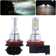 Upgrade H11 H8 H9 LED Headlight Bulbs Kit High Low Beam 35W 4000LM 6000K White