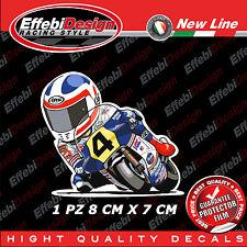 Adesivo/ adesivi Sticker Mascotte WAYNE GARDNER HONDA 500 GP AUSTRALIA PILOTA