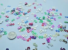 Wedding Table Scatters Foil Confetti Dollar Sign - Multi x 3