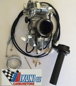 Mikuni Carburetor,TM36-68 36mm Flatslide Pumper Kit Honda XR400