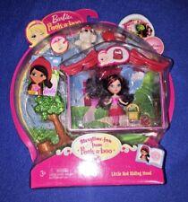 Barbie Peek-a-boo Petites Storytime Little Red Riding Hood Room Doll Mattel 2008