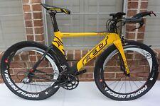 Felt B2 54cm Sram 10 Speed Carbon Aero Triathlon Bike(NO WHEELS)