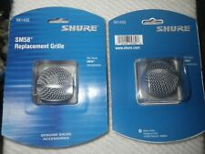 1 Original Shure RK143G Genuine Replacement Grille for Sm58 Mic Grill SM 58