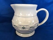 Heritage Green 1 Qt Pitcher Usa East Liverpool Longaberger Sterling Pottery Hall