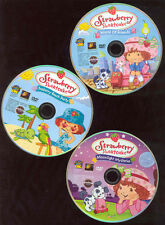 Strawberry Shortcake DVDs X3 World Of Friends Seaberry