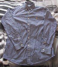 Mens Ralph Lauren Custom Fit Striped Shirt Size Medium