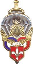 Centre d'Instruction Parachutiste Militaire, LILLE, doré, Destrée (0101)