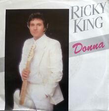 "7"" 1984 CV RITCHIE VALENS + BEATLES ! RICKY KING : Donna + My Bonnie /MINT-"