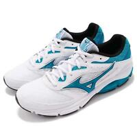 Mizuno Wave Surge White Blue Men Running Athletic Shoes Sneakers J1GC1713-27