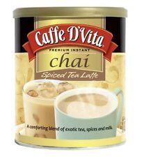 Caffe D'Vita Spiced Chai Latte 16 Ounces (2 Cans)
