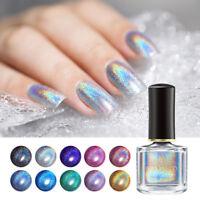 6ml BORN PRETTY Deluxe Holographicss Nail Polish Laser Glitter  Varnish