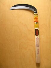 Compact gardening sickle 165mm/ 2mm top tool steel hand crafted #2