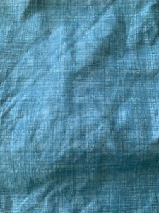 NEW Essential Home Queen polyester Bed Skirt turquoise / Dust Ruffle
