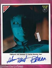 Adam West Hand SIGNED/AUTOGRAPH COLOR 8X10 PHOTO RARE BATMAN/ROBIN FROM 1997 HTF
