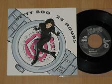 "Betty Boo 24 Hours 7"" B/w Instrumental Pic Sleeve UK Rhythm King 1990"