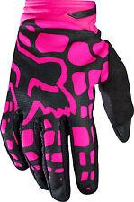 Fox Racing Adult Women's Dirtpaw Gloves Pink Purple Motocross MX/ATV/MTB Girl's