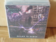 BONDED BY BLOOD - exiled to earth  red LP NEW