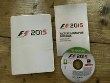 New listing F1 2015 Formula 1 15 - UK Xbox One G1 Steelbook Edition + Guidebook VGC