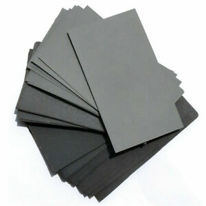 70* Wet And Dry Waterproof Sandpaper 600-2500 Grit Sheets Rectangle Sander Paper