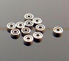 [10pcs] 681 1*3*1 1x3x1mm Metal Shielded Ball Bearing Bearings