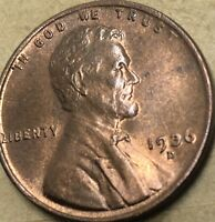 1936 -D. UNCIRCULATED Lincoln Cent Wheat Penny. Copper Wheat Cent. UNCIRCULATED