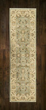 Afghan Ziegler Wool like Antique GREEN Traditional Hallway Runner 67x230cm 30%OF