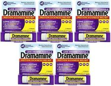 Dramamine Motion Sickness Relief Less Drowsy Formula 8 Count Pack of 5