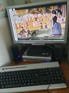 Acer Personal Computer Desktop PC running Windows Vista read description