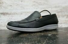 Cole Haan Grand Tour Venetian Slip-On Loafers SZ 10.5 Used c26659 Black Leather