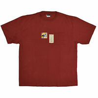 Dickies Big and Tall Men's Heavy Weight Pocket Tee in Red