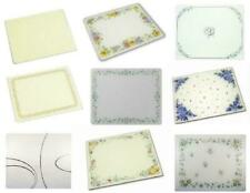 NEW Corelle 15 x 12 Tempered Glass KITCHEN COUNTER SAVER >>Choose Your Pattern<<