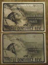 Publicité SAVON DENTIFRICE DOCTEUR PIERRE  1921, advert