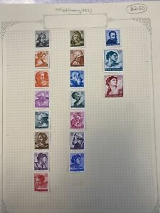 Italy Stamps MM Set (missing 150L)