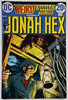 Weird Western Tales #18 VF- 7.5 Early Jonah Hex Bronze Age DC Comics