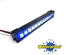 Gear Head RC 1/10 Scale Trail Torch LED Light Bar - White and Blue GEA1161