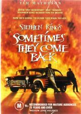 SOMETIMES THEY COME BACK - STEPHEN KING - NEW DVD - FREE LOCAL POST
