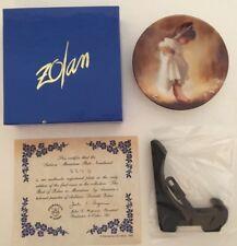 "Pemberton & Oakes  ""Sabina"" Miniature by Donald Zolan 3 1/4""  Plate # 1822C COA"