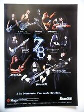 PUBLICITE-ADVERTISING :  Guitares IBANEZ 7 & 8 strings  12/2010 Epica,Ihsahn...