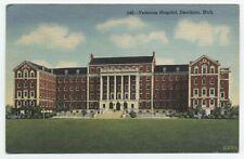 MI ~ Veteran's Hospital DEARBORN Michigan 1948 Wayne County Postcard