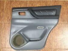 2002 Toyota Land Cruiser Rear Right Door Panel Gray Used