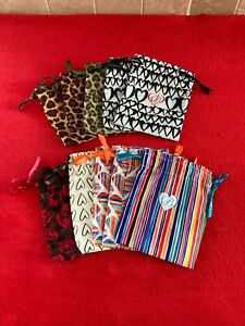 Brighton Jewelry Pouch Drawstring Dustbag Cover Lot 10 Bags Collectible MINT