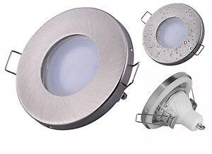 Set Bad Einbaustrahler LED Decken-Spot IP65 230Volt Badezimmer Strahler