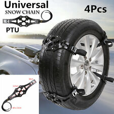 4x Anti-Skid Grip Emergency Auto Car Truck Wheel Tire Chain Belt Safety Traction
