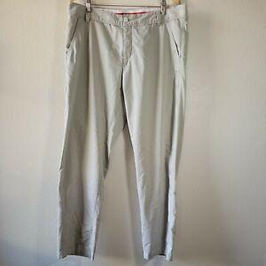 PUMA Golf Pants Sport Lifestyle Light Khaki Mens Size 38x34