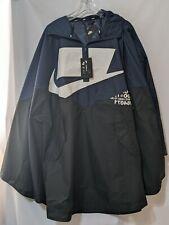 NWT Nike Shield Sportswear Windrunner Rain Woven Poncho Jacket One Size CJ5059