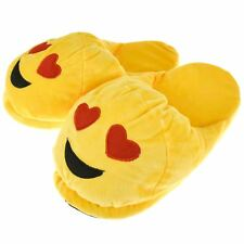 Unisex Emoji Smiley Face Wink Poop 3D Slipper Non Slip Warm Novelty Fun One Size