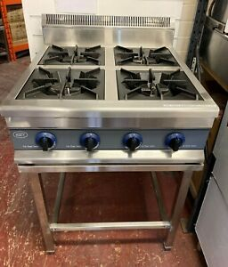 LPG 4 Burner Gas Cooker with Stainless Steel stand EN87S