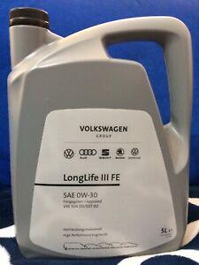 OLIO VW 0W30 LONG LIFE ORIGINALE VW 504.00 - 507.00 OEM