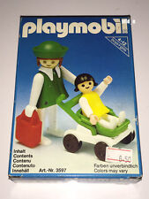 PLAYMOBIL 3597 | MOTHER & CHILD | 1981 MIB NEW NRFB | KLICKY MUTTER KIND BUGGY