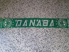 d1 sciarpa PANATHINAIKOS FC football club calcio scarf bufanda grecia greece